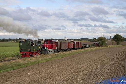 101 + V11 . Selfkantbahn . Stahe . 29.09.19.