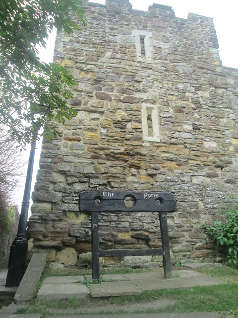 Ypres Tower , (stocks), Rye, East Sussex