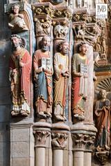 Pórtico del Paraíso, Siglo XIII - Catedral de Ourense - Detalle - Orense