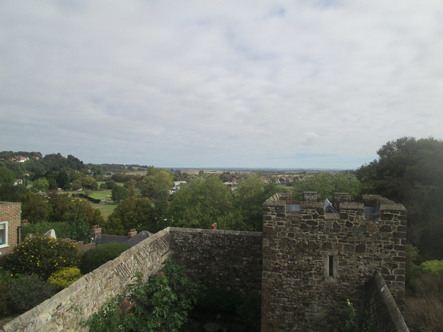 view from Ypres Tower (Women's prison), Rye, East Sussex