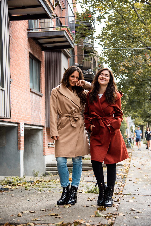 camille dg marie-chloe falardeau manteau automne initiales le chateau