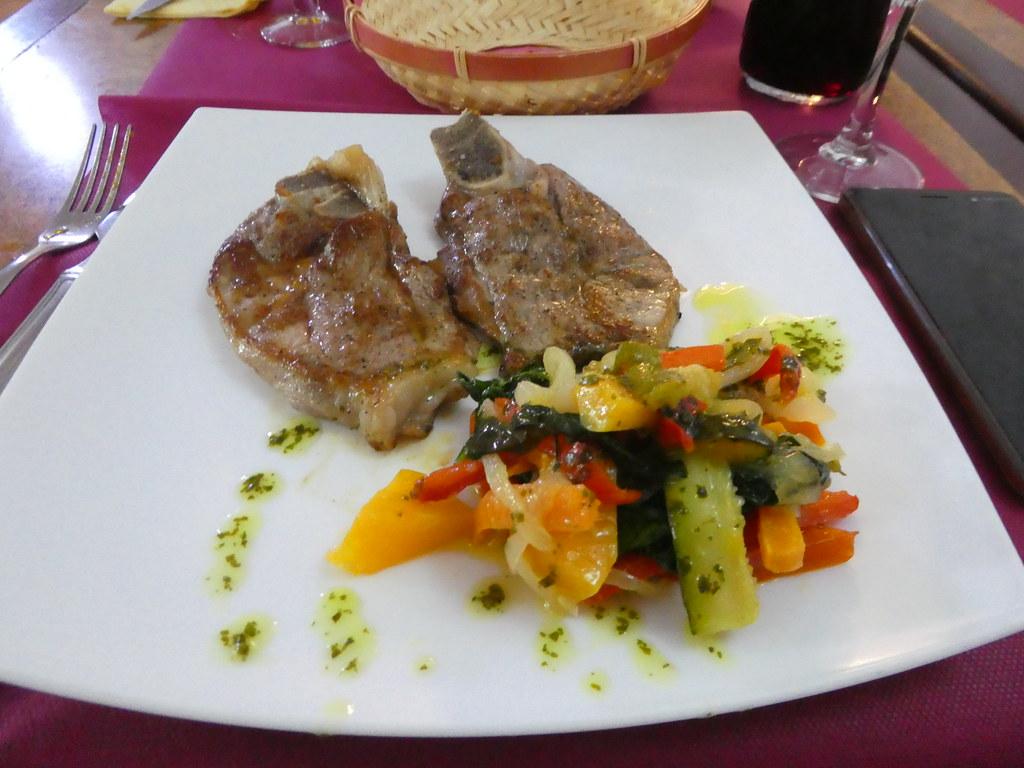 Grilled lamb n Girona