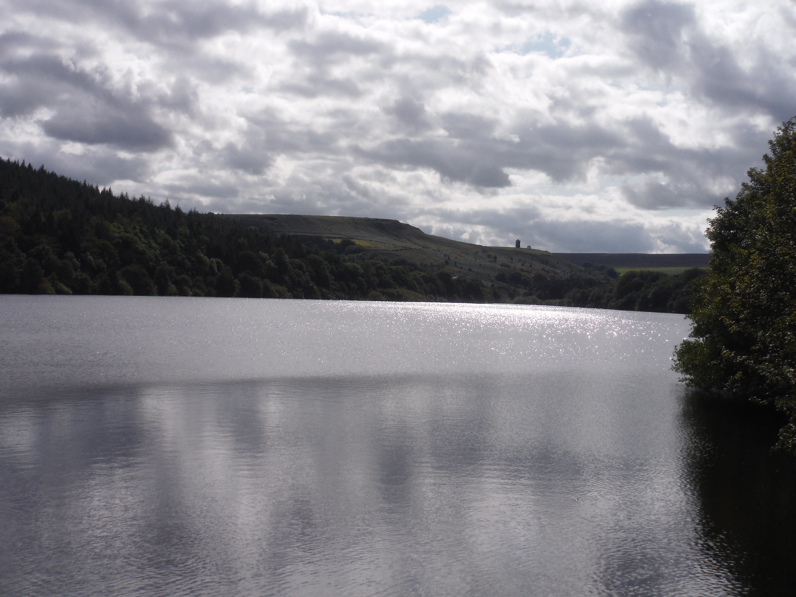 Boot's Folly viewed along Dale Dike (Reservoir) SWC Walk 348 - Ladybower Inn Circular (via Derwent Edges and Strines)
