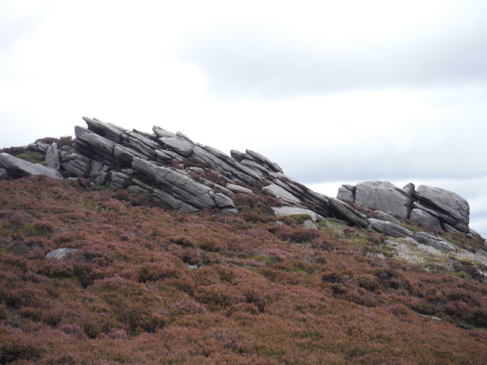 Hurkling Stones, Derwent Edge SWC Walk 348 - Ladybower Inn Circular (via Derwent Edges and Strines)