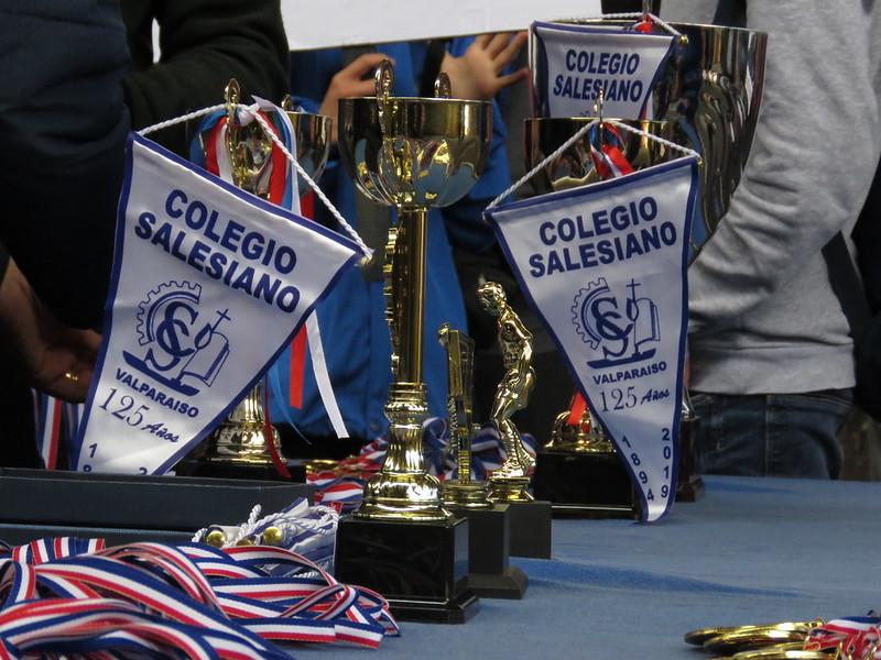 Premiación Campeonato Nacional Salesiano 2019 - Copa 125 Años