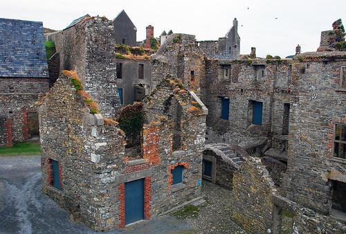 Les ruines de Charles Fort à Kinsale, Irlande