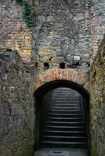 The ruins of Charles Fort in Kinsale, Ireland