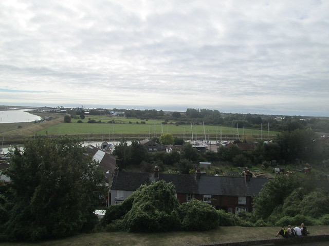view from Ypres Tower, Rye, East Sussex