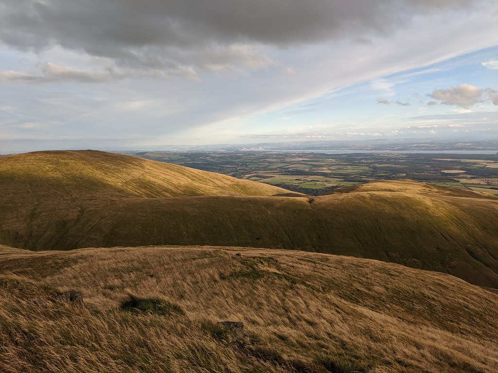 King's Seat from Andrew Gannel Hill