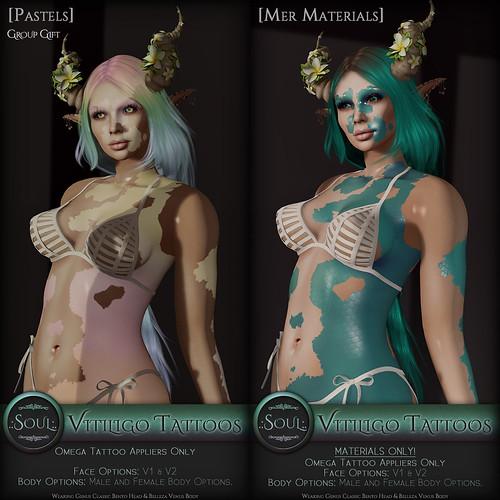 .:Soul:. Vitiligo - Pastels & Materials