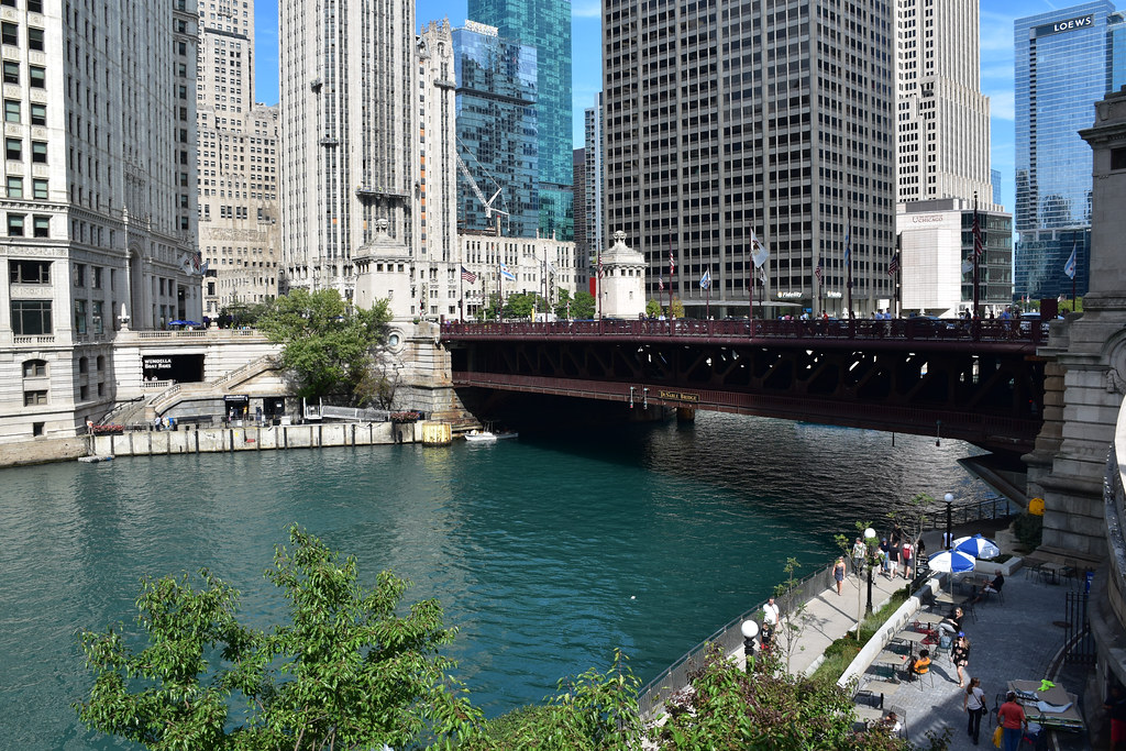 Michigan Ave Bridge- Chicago