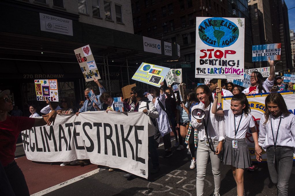 GA74 - Youth-led #ClimateStrike ahead of UN Climate Action Summit