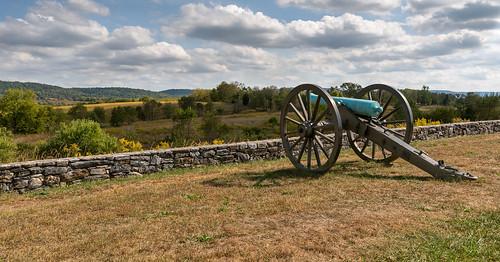 Artillery West of Burnside Bridge