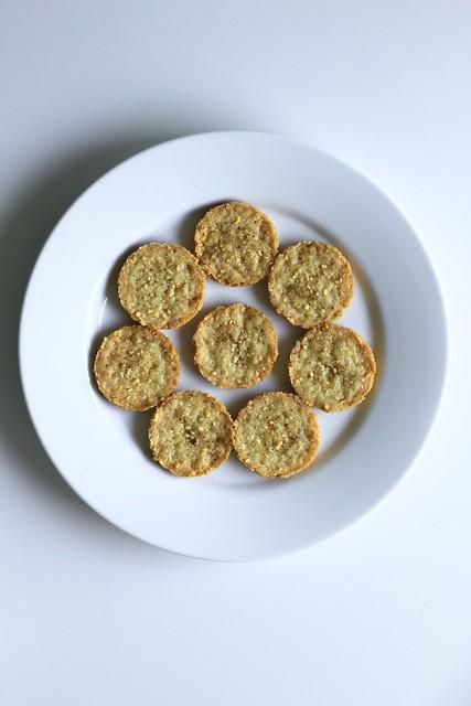 parmesan galettes
