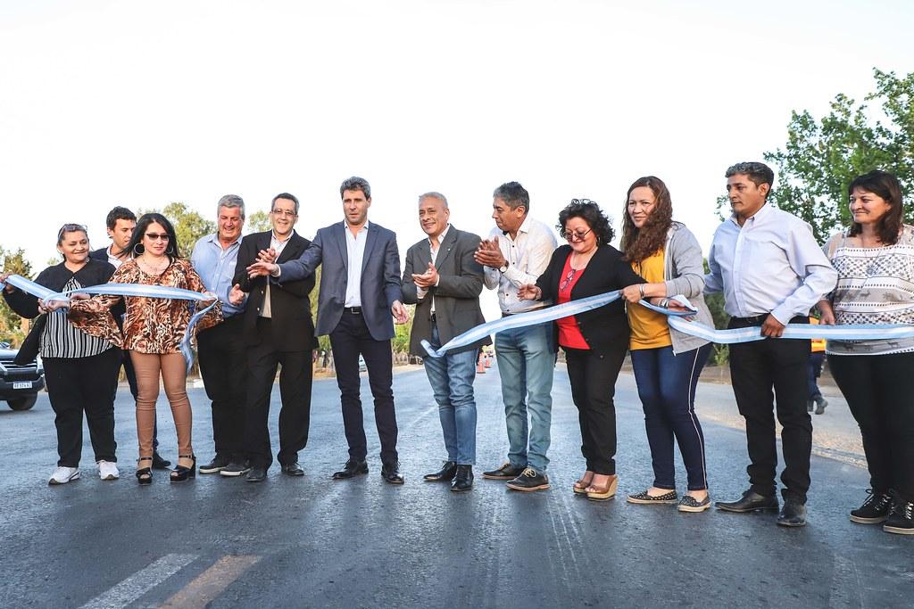 2019-09-30 PRENSA: El gobernador inauguró obras en el departamento 25 de Mayo