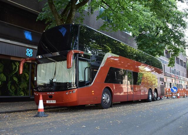 Garbage Tour 2019 Jumbocruiser Tour Bus JU08 BUS