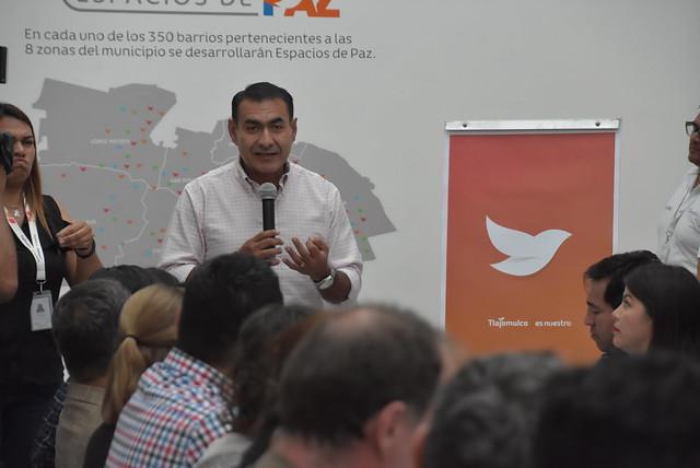 Presentación de Politícas Públicas de Espaciós de Paz