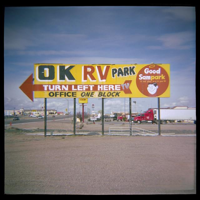 good sam park / route 66. holbrook, az. 2007.