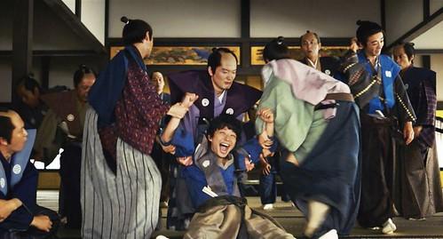 The movie poster & stills of Japanese movie, 2019.10.01  武士搬家好吃驚