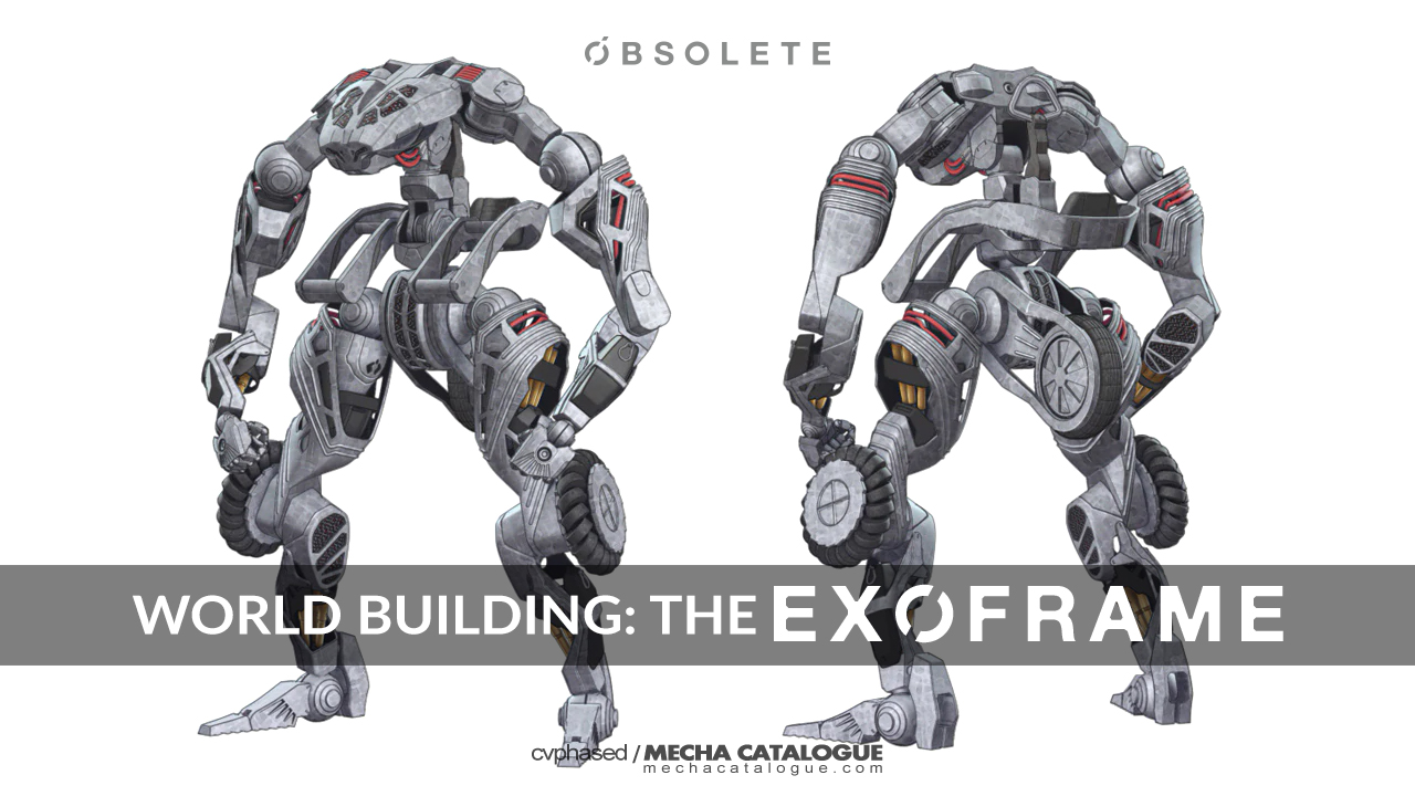 "YouTube Original Anime ""OBSOLETE"" World Building: The EXOFRAMES"