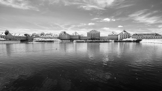 Nymphenburg Palace / Schloss Nymphenburg (Adventures in Infrared)