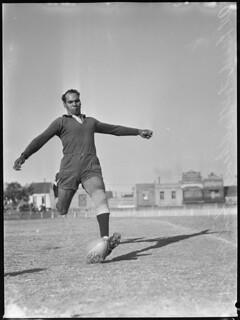 "Eric ""Nugget"" Mumbler, Redfern All Blacks, 24 August 1946"