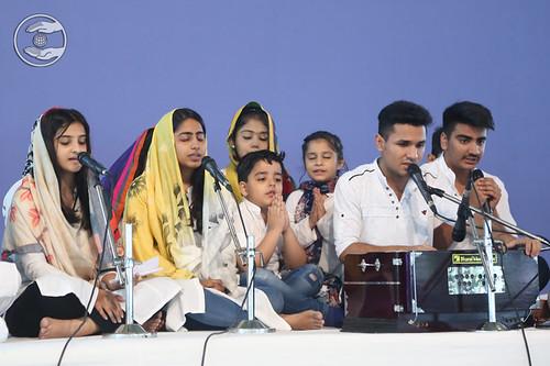 Rohini Bal Sangat presented Bhajan, Delhi