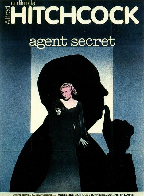 secret agent poster french version