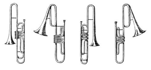 Cimbasso trombones de pistones uhlmann