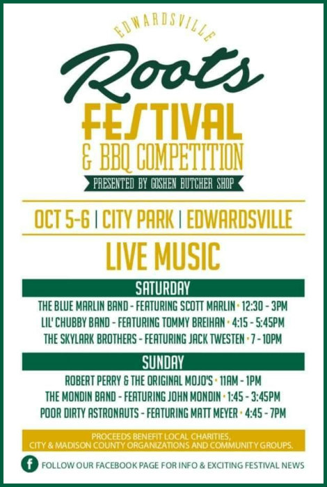 Roots Festival 10-5, 10-6-19