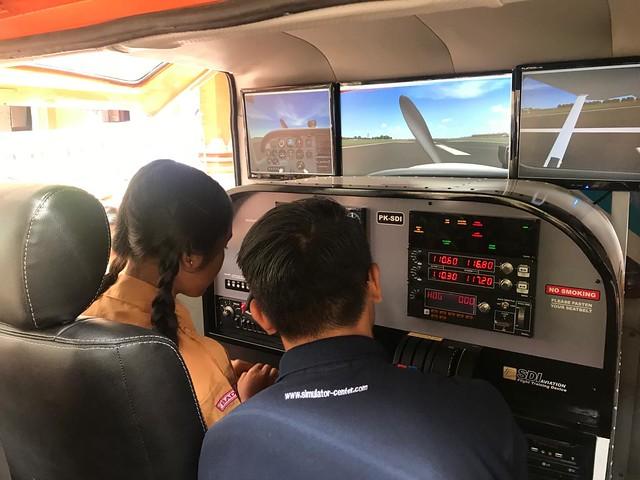 Sosialisasi Mobil Simulator