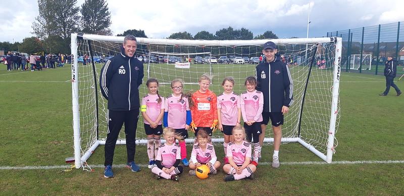 Barton Juniors FC Under 8 Girls
