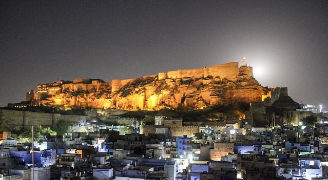 Mehrangarh at night