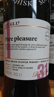 SMWS G1.17 - Pure pleasure