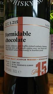 SMWS 1.215 - Formidable chocolate