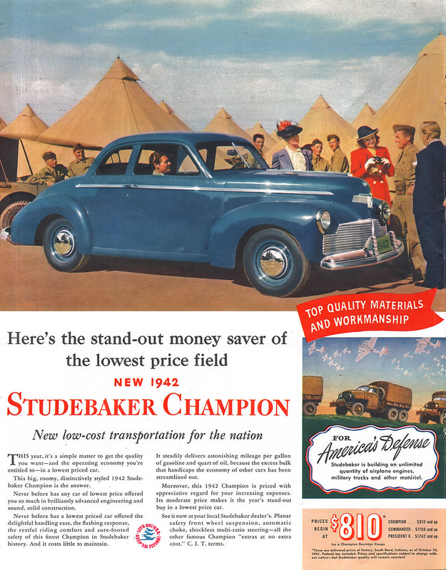 1942 Studebaker Champion Coupe