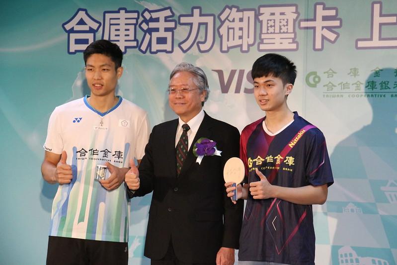 周天成(左)、林昀儒(右)。(陳容琛/攝)