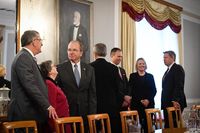 Valsts prezidenta Egila Levita tikšanās ar Pasaules Brīvo latviešu apvienības valdes pārstāvjiem