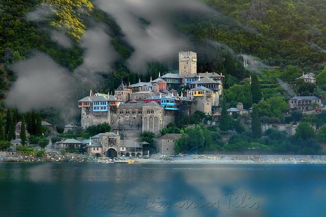 Ι.Μ.Δοχειαρίου Άγιον όρος Holy Monastery Dohiariou Mount Athos