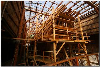 Construcció de la rèplica de la San Juan