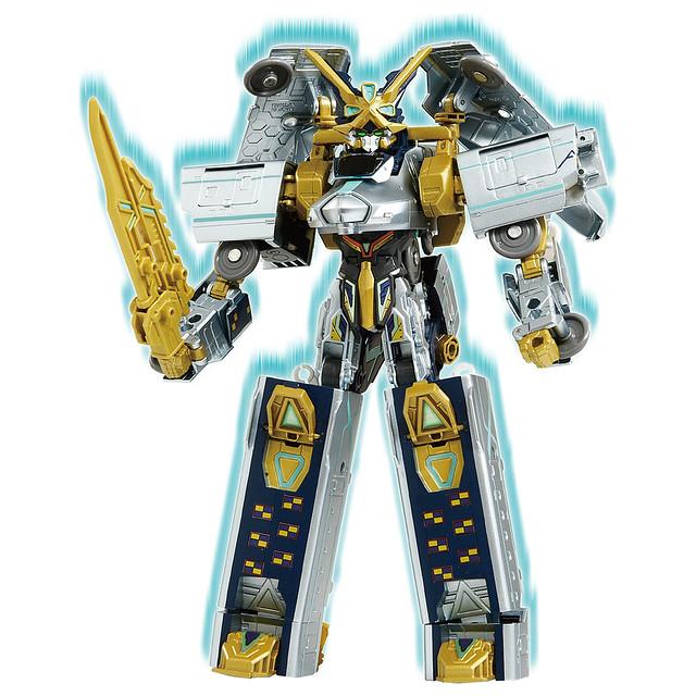 連結現在和未來、父與子的牽絆!TAKARA TOMY《新幹線變形機器人》DXS104 Shinkalion  ALFA-X(シンカリオン ALFA-X)