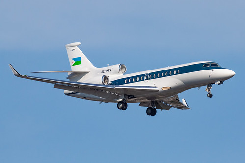 Government of Djibouti Falcon 7X J2-HPV | by rmssch89