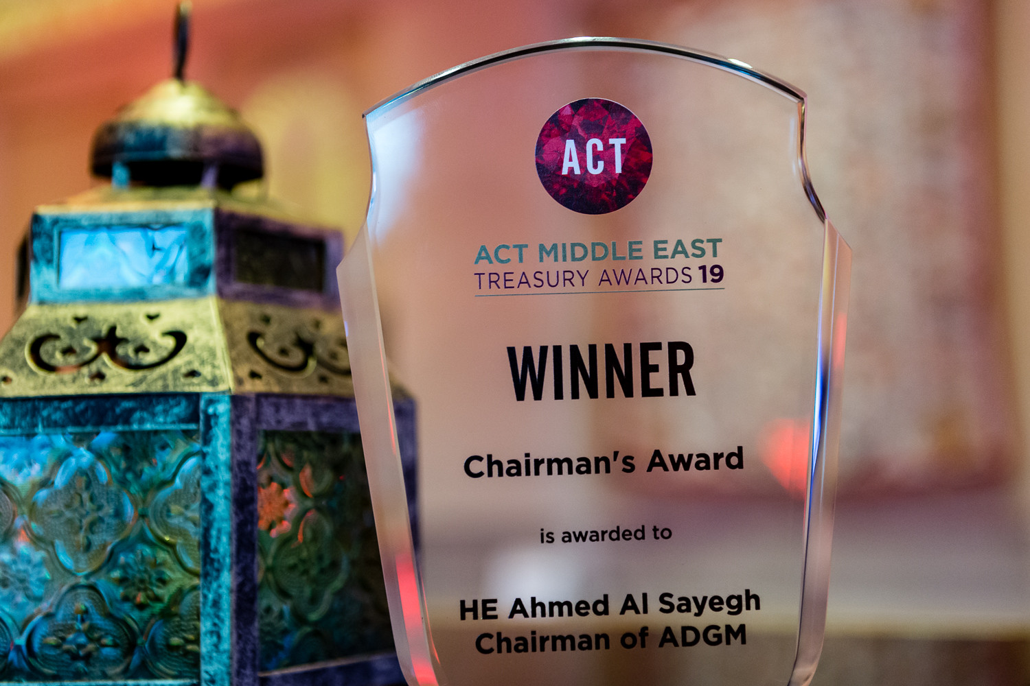 ACT Middle East Treasury Awards 2019