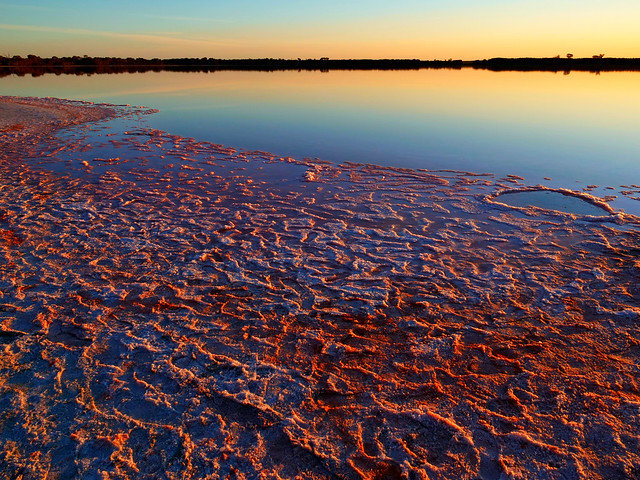 Pink Lake Reserve, Dimboola, Victoria by Leica 12mm f1.4
