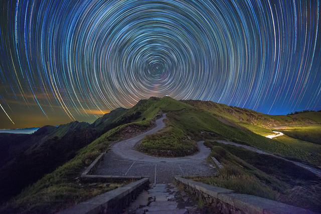 合歡山~瑪雅平台星軌~ Mt. Hehuan Startrails