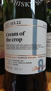 SMWS 113.22 - Cream of the crop