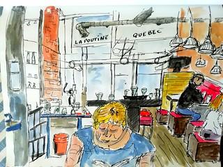 Québec restaurant la poutine