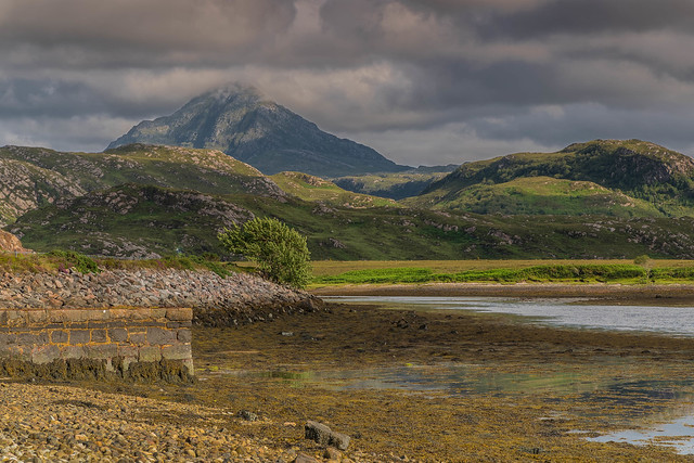Distant Beinn Stack ..