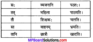 MP Board Class 6th Sanskrit Model Question Paper 5