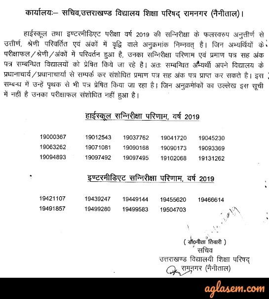 UK Board 10th Result 2019 | Uttarakhand Board Class 10 Result 2019 (Released)